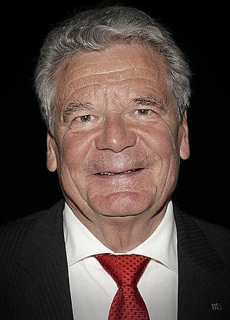 Joachim Gauck - Image: President Gauck