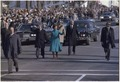 President Jimmy Carter and Rosalynn Carter walk down Pennsylvania Avenue during Inauguration. - NARA - 173376.tif