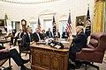 President Trump Visits with the Secretary General of the North Atlantic Treaty Organization (NATO) (49069538742).jpg