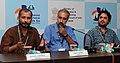 Press Conference by Sourav Sarangi (Director), Unni Vijayan (Director), Gurvinder Singh (Director), at the 43rd International Film Festival of India (IFFI-2012), in Panaji, Goa on November 25, 2012.jpg