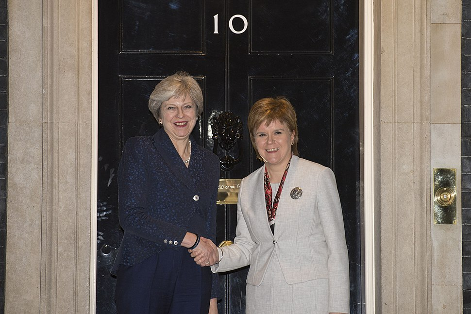 Prime Minister meets the First Minister of Scotland