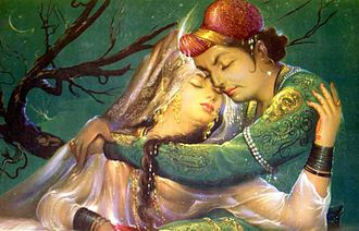 Folklore - The story of Jahangir and Anarkali is popular folklore in the former territories of the Mughal Empire.