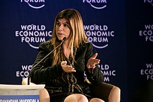 Priya Hiranandani at the World Economic Forum on India 2012