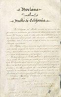 Proclama al Pueblo de California (1849).jpg