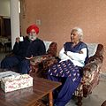 Prof. H.S. Mehta an eminent educatonist and social scientist from Punjab, India with his wife Prof. Swarnjit Mehta.jpg