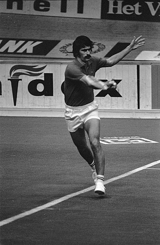 Marty Riessen - Marty Riessen at the 1972 Rotterdam Indoors tournament