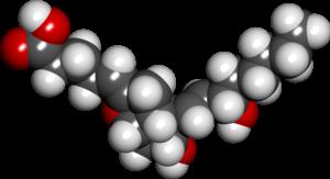 Prostacyclin - Image: Prostacyclin spacefill