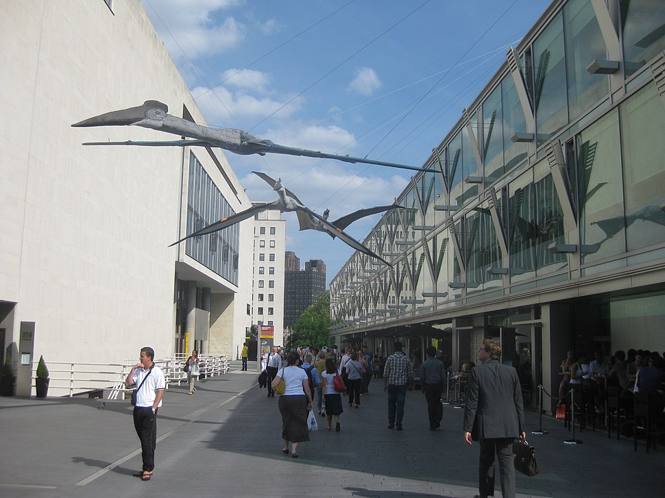Pterosaurs on South Bank