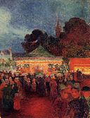 Puigaudeau, Ferdinand du - Carnival at Night in Croisic.jpeg