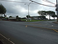 Intersection of Old Haleakala Highway and Pukalani Street in Pukalani