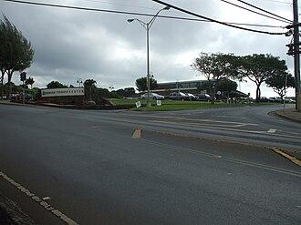 Pukalani, Hawaii - Intersection of Old Haleakala Highway and Pukalani Street in Pukalani