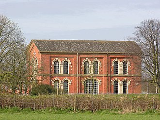 Cottingham, East Riding of Yorkshire - 'Mill Dam' pumping house, late 1800s (2007)
