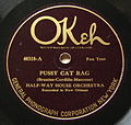 Pussy Cat Rag Halfway House Orch Label OKeh.jpg