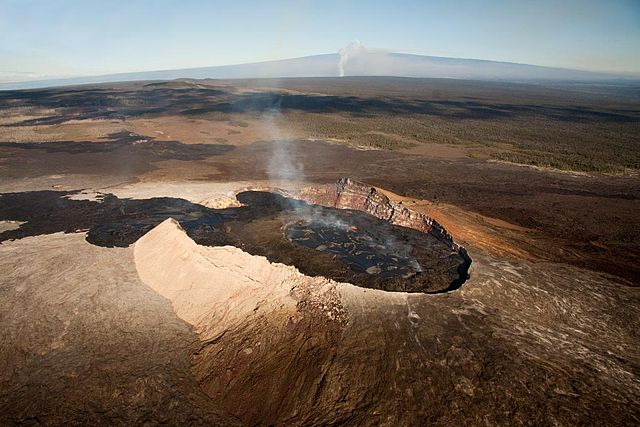 Crater Kilauea, Hawai
