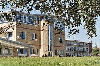 Queens Park Community School - Front view of QPCS