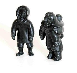 Qaunak Mikkigak Inuit throat singer, drawer, sculptor, and writer
