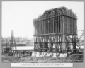 Queensland State Archives 3255 New wharf gravel bins and central mixing plant Kangaroo Point 11 March 1936.png