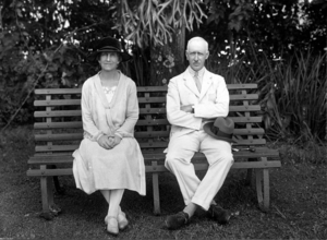 John Goodwin (British Army officer) - Portrait of Lady and Sir John Goodwin, March 1928