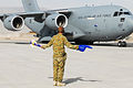 RAAF C-17 in Afghanistan on Australia Day 2013.jpg