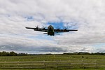 RAF Hercules on short finals at RAF Brize Norton.jpg
