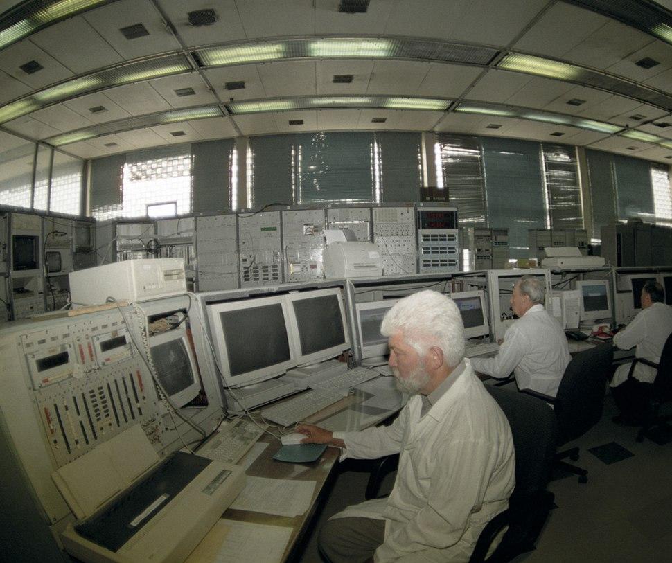RIAN archive 105514 U-70 atom smasher control panel
