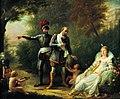 RIVIERE Mlle - Henri IV quittant Gabrielle d'Estrées, 1819.jpg