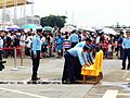 ROCAF Airmen Taking away Chairs after Memorial Photo 20120811.jpg