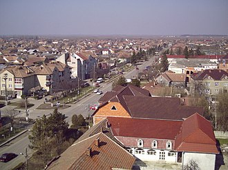 Curtici - Image: RO AR Panoramic view of Curtici