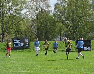 RU-38 (sports club) - 1960's players of RU-38 in May 2012.