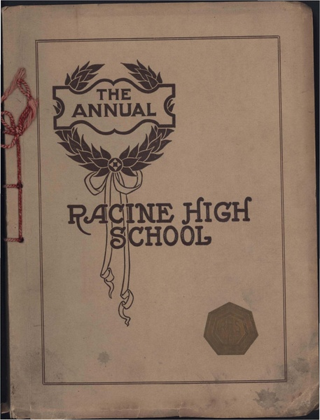 File:Racine High School Senior Annual 1911.pdf