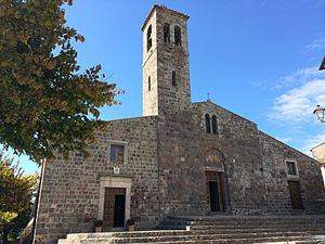 Radicofani - St.Peter's church
