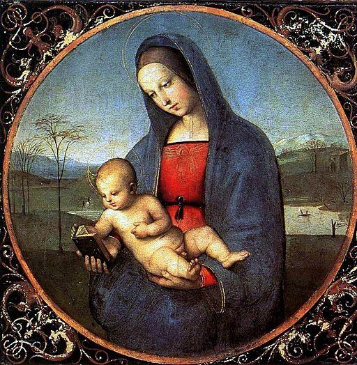 Raffaello Madonna Connestabile