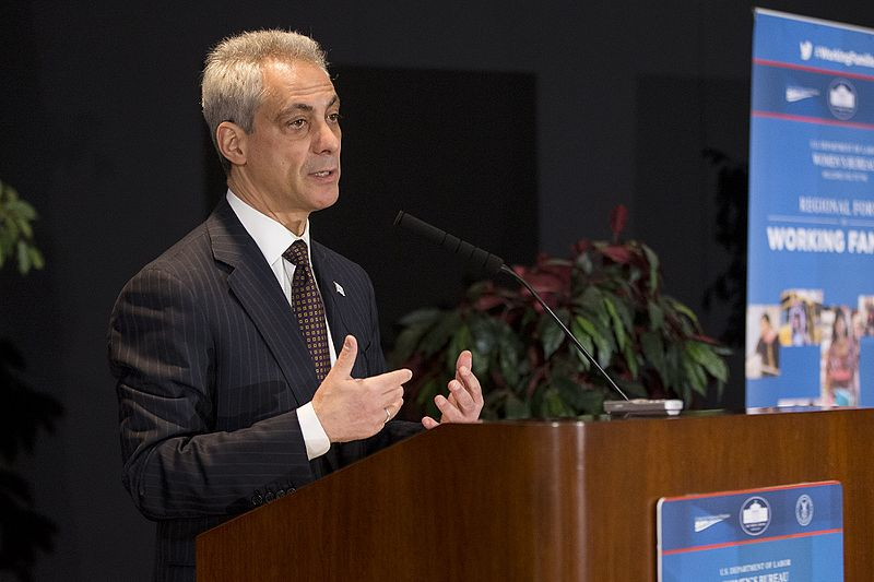 File:Rahm Emanuel, Mayor, City of Chicago,, 2014.jpg