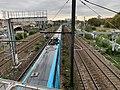 Rame TGV Ouigo Ligne PLM Paris Lyon vue depuis Pont Avenue République - Maisons-Alfort (FR94) - 2020-10-16 - 3.jpg