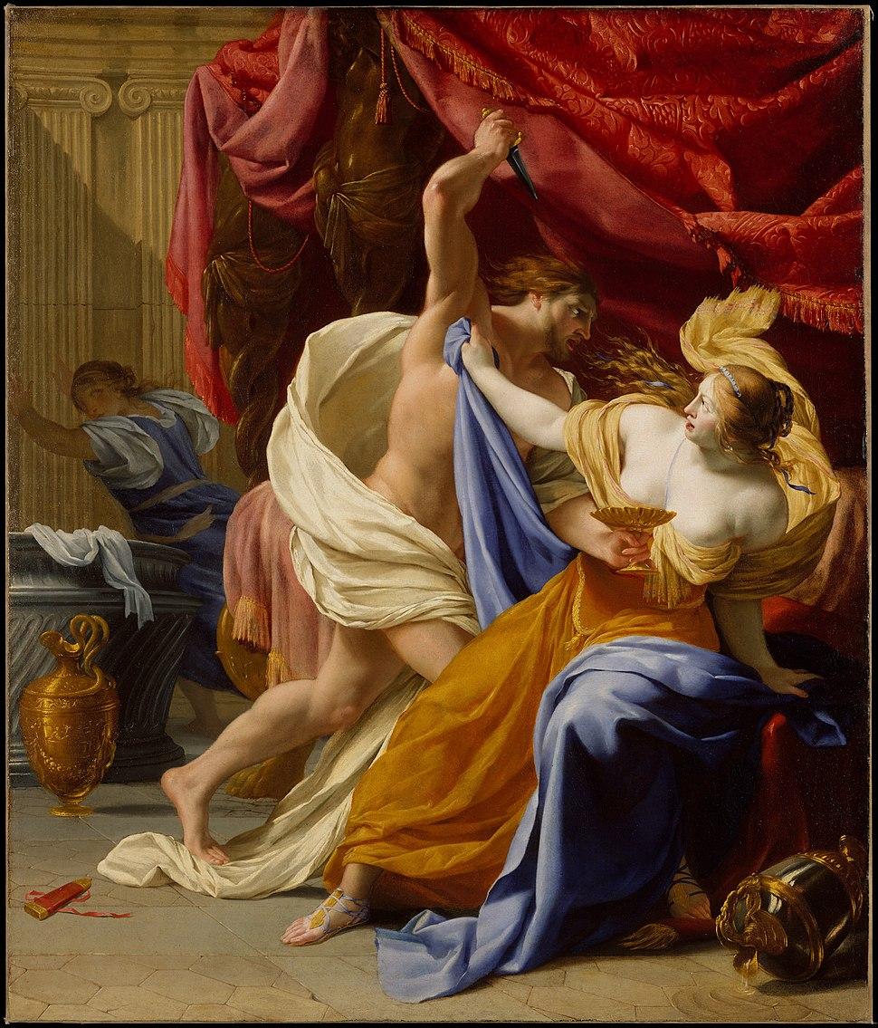 Rape of Tamar - Le Seur