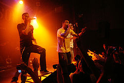 Rapsoul live im Knust in Hamburg am 25. September 2006