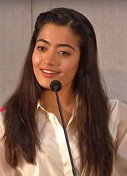 Rashmika Mandanna PYTV press meet.jpg
