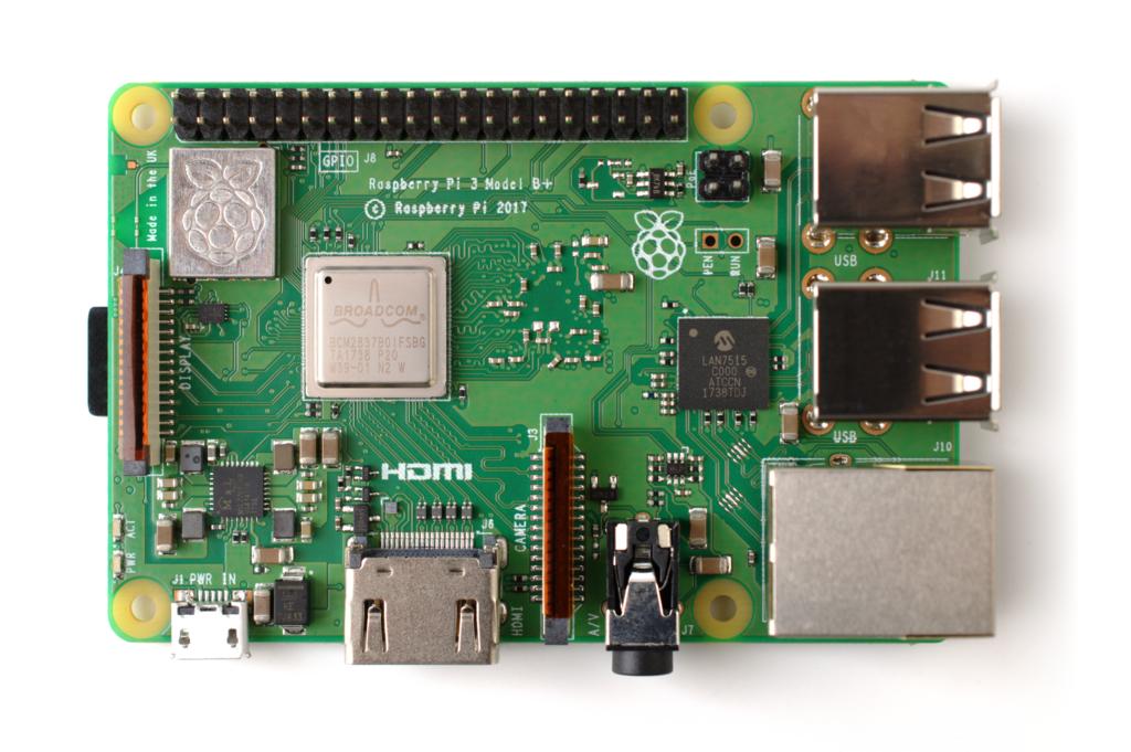 Raspberry Pi 3 B+ (39906370335)