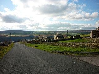 Thruscross Human settlement in England