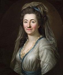 Elisa von der Recke, Gemälde von Ernst Gottlob nach Joseph Friedrich August Darbes, 1785, Gleimhaus Halberstadt (Quelle: Wikimedia)