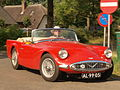 Red 1960 Daimler SP 250 pic2.JPG