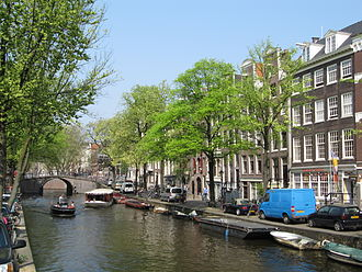 Wim van Norden - The Reguliersgracht in Amsterdam where Van Norden lived and worked during (and after) the War