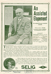 Release flier for AN ASSISTED ELOPEMENT, 1912.jpg