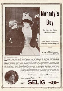 <i>Nobodys Boy</i> (1913 film) 1913 short film