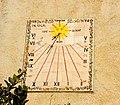 Rellotge de sol, masia, Sant Martí Sarroca, Barcelona.jpg