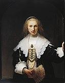 Rembrandt van Rijn (Leiden 1606-Amsterdam 1669) - Agatha Bas (1611-1658) - RCIN 405352 - Royal Collection.jpg