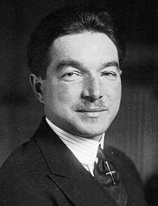René Fonck député 1920.jpg