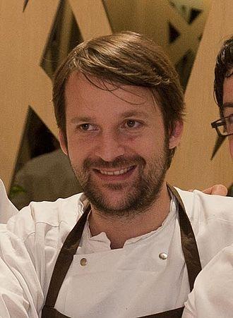 René Redzepi - René Redzepi in the restaurant Zaldiarán (Vitoria-Gasteiz)