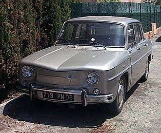 Renault 8 and 10 - Renault 8