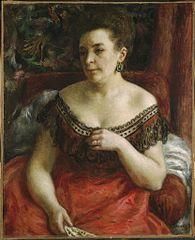 Madame Pierre Henri Renoir (Blanche-Marie Blanc, 1841-1910?)
